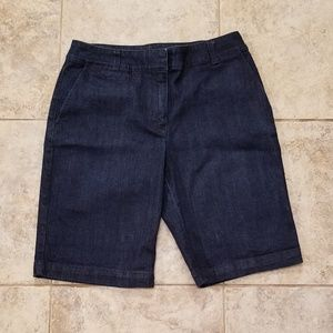 Talbots Shorts - Talbots Like New Blue Jean Shorts Heritage Nice!